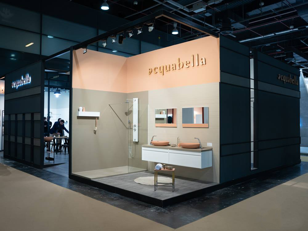 Acquabella finishes off 5 busy days at CEVISAMA 2019