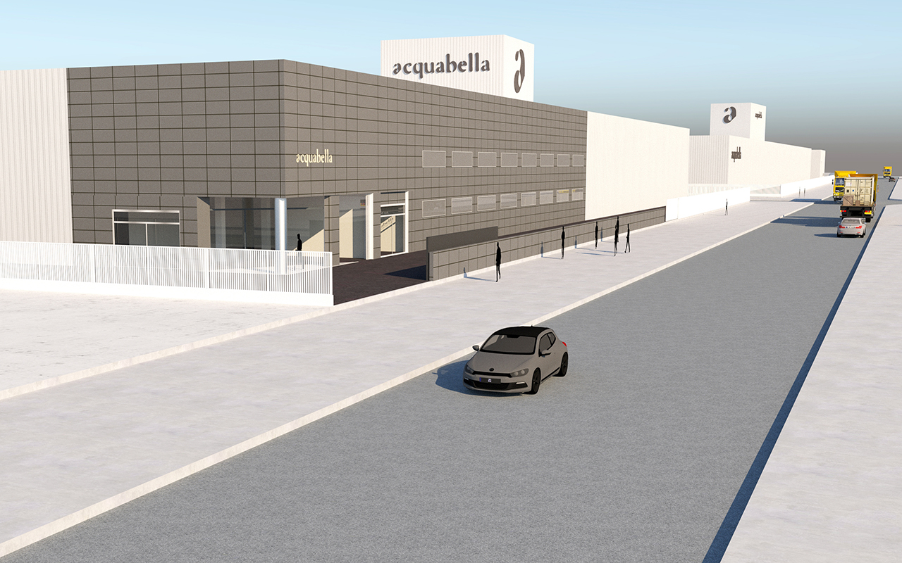ACQUABELLA drives innovation forward with a more modern factory