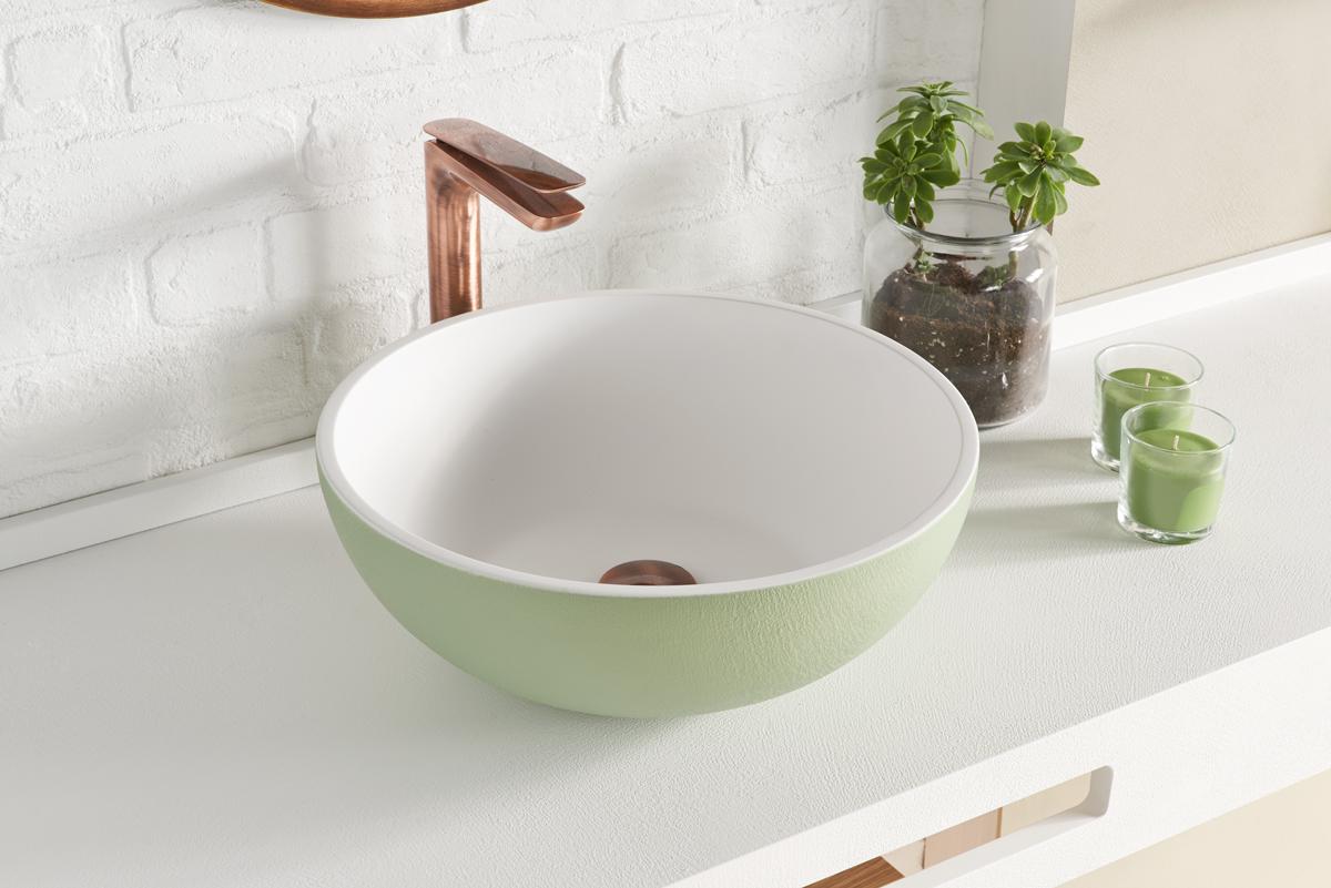 Lavabo sobre encimera: ¿la mejor opción para mi baño?