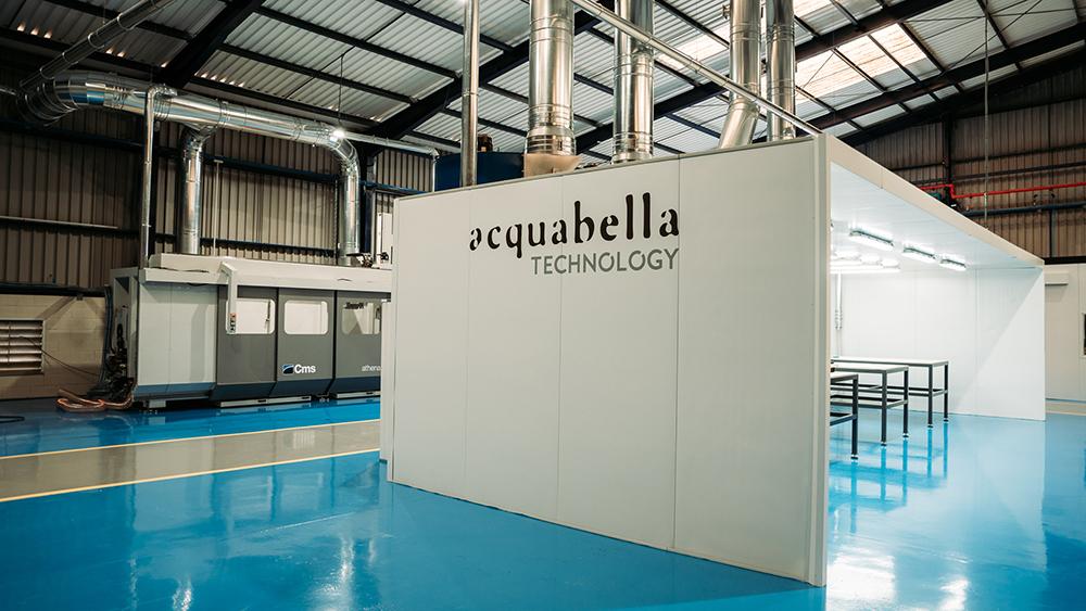 Acquabella eröffnet sein Zentrum für Forschung und Entwicklung mit Innovationen als Wachstumsmotor