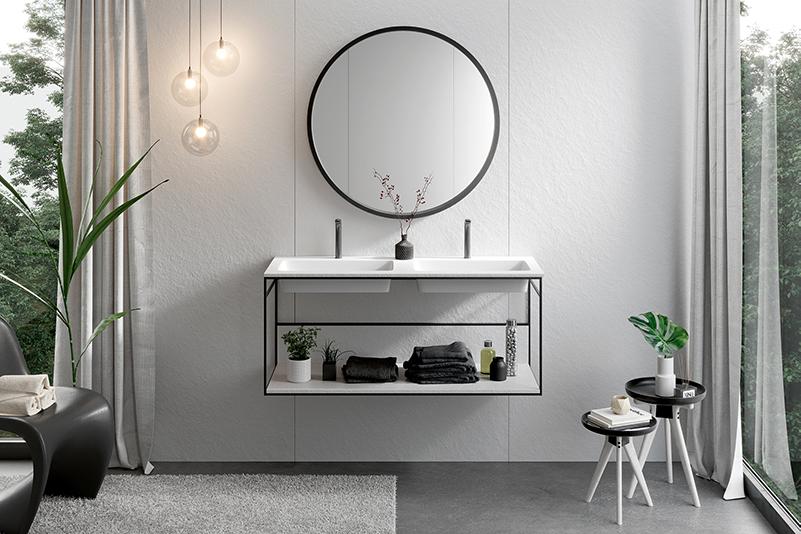 Drei Moglichkeiten Die Farbe Schwarz Im Badezimmer Zu Kombinieren