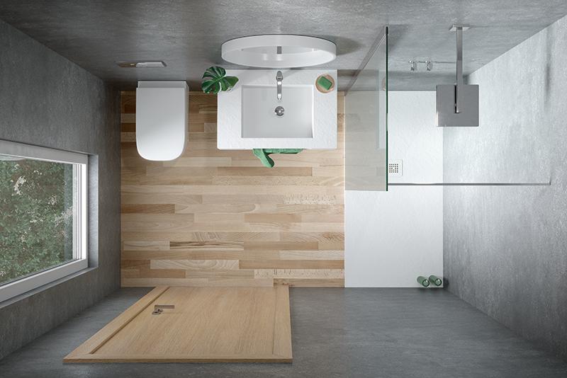 Comment obtenir une sensation d'espace dans les petites salles de bains