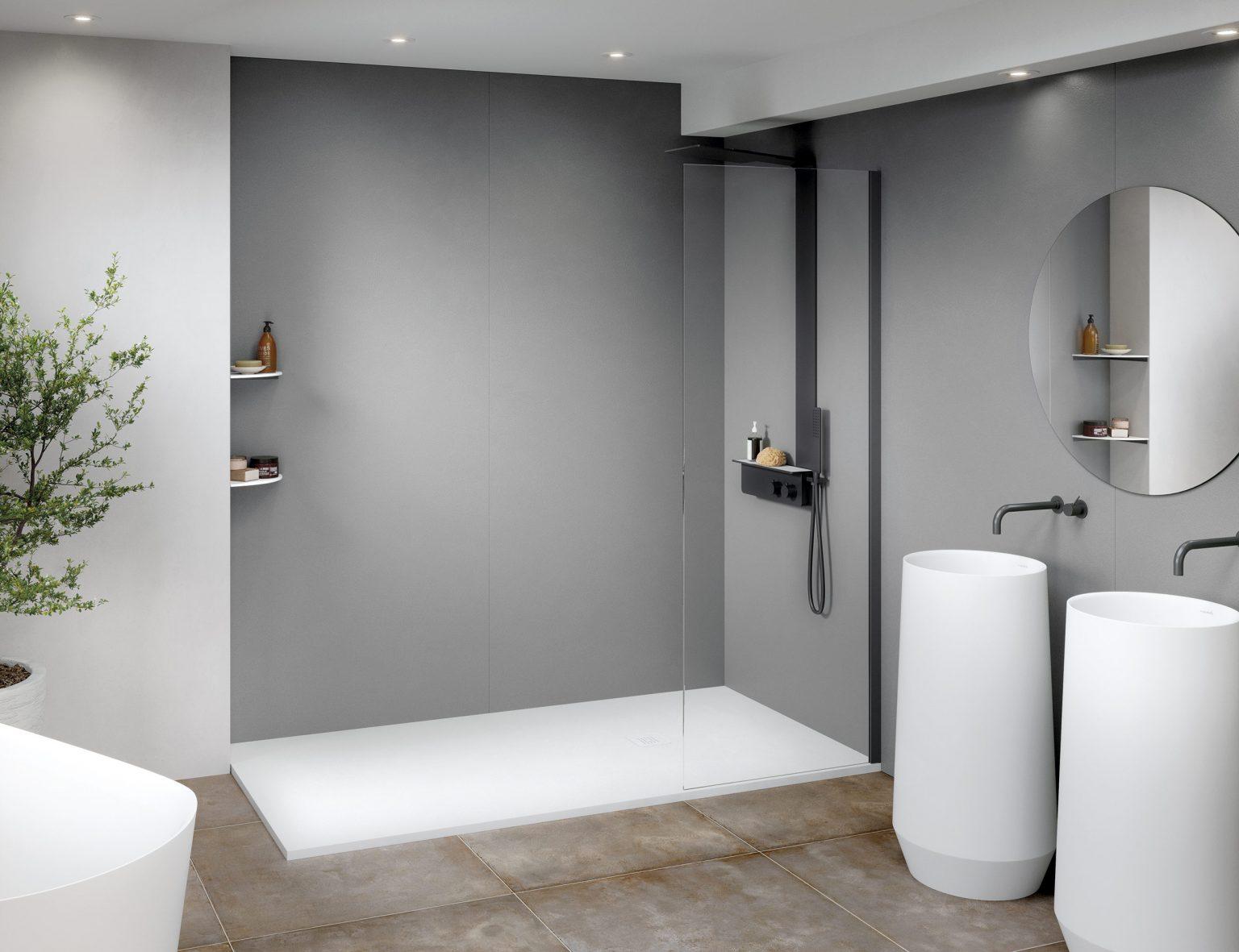 Ideas para revestir las paredes del cuarto de baño ...