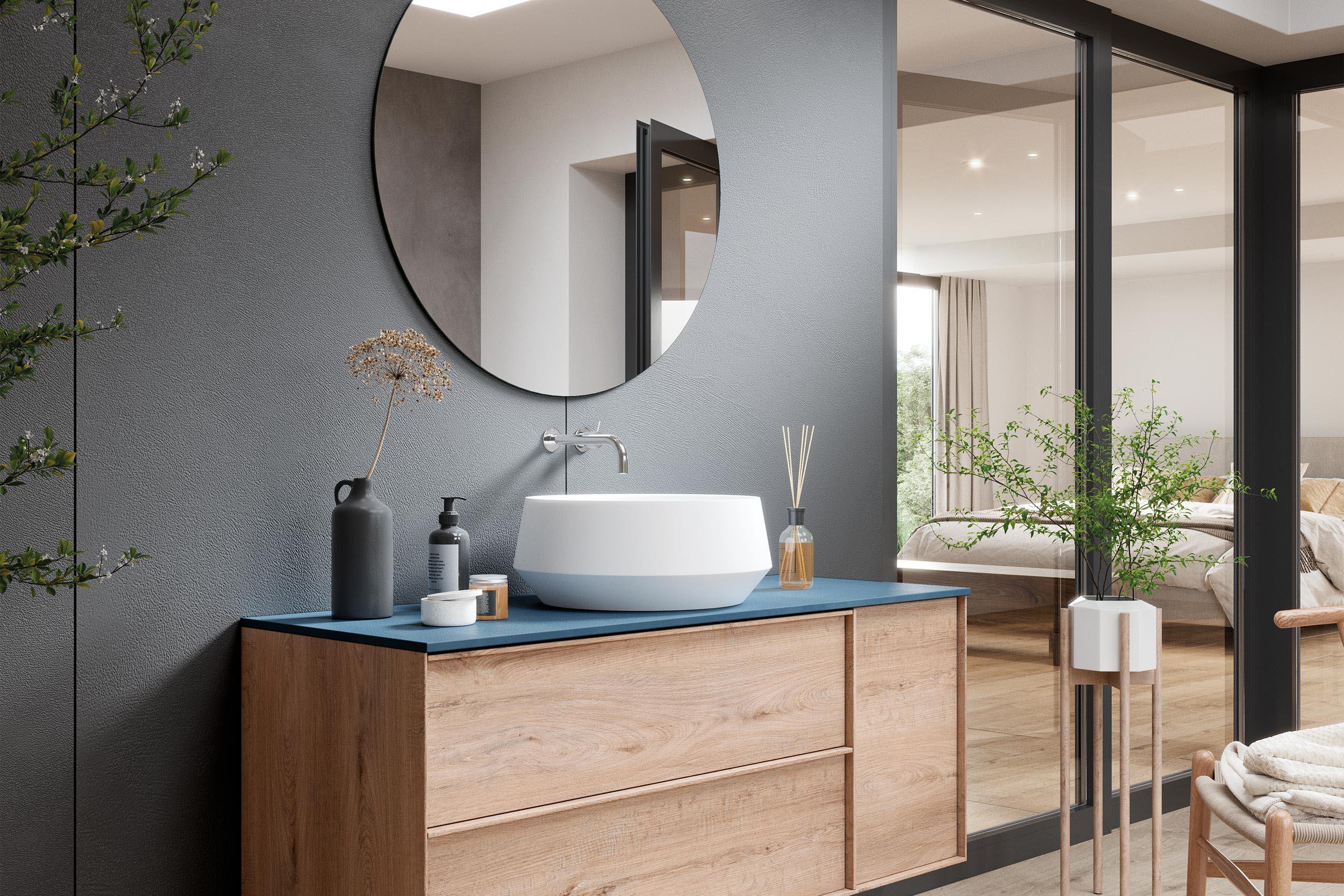 Idées pour la salle de bains d'invités