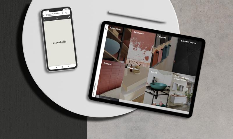 Catálogo interactivo Acquabella: una nueva forma de conocer el producto
