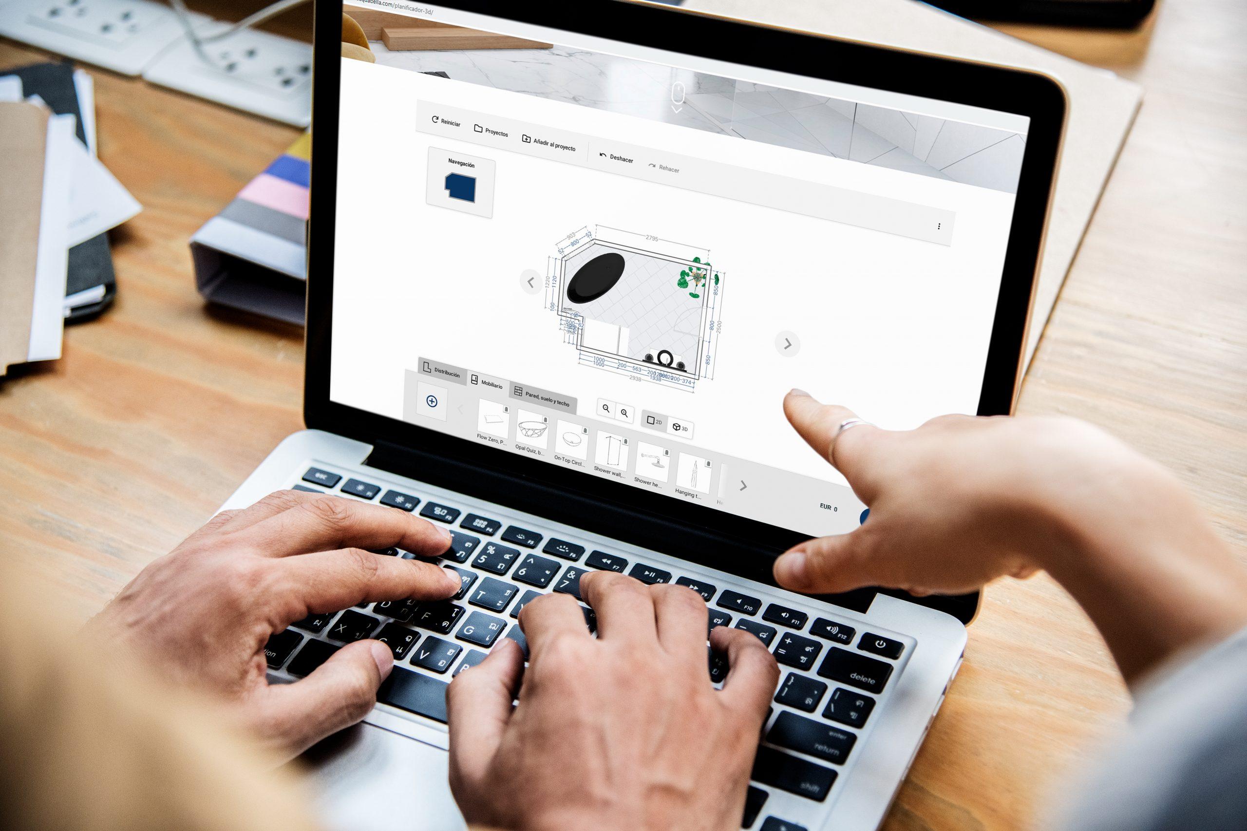 Crea il tuo bagno con Acquabella: nuovo planner 3D