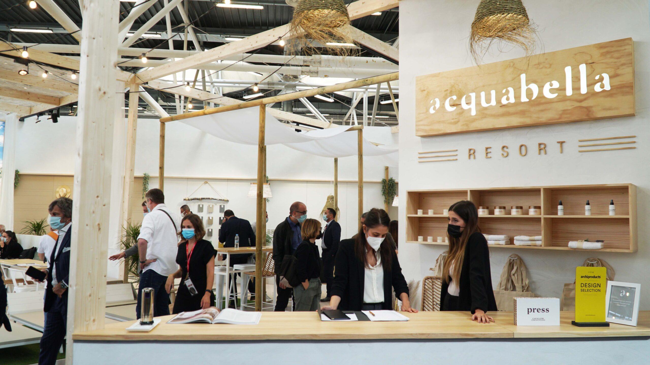 All eyes on Acquabella Resort at Cersaie 2021